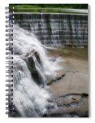 Waterfalls Cornell University Ithaca New York 06 Spiral Notebook