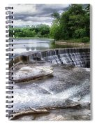 Waterfalls Cornell University Ithaca New York 07 Spiral Notebook