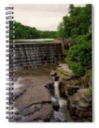 Waterfalls Cornell University Ithaca New York 08 Vertical Spiral Notebook