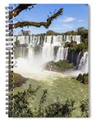 Waterfalls In Frame Spiral Notebook