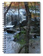 Waterfalls In Morning Spiral Notebook