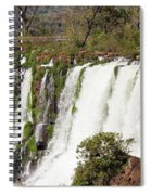 Waterfalls Spiral Notebook