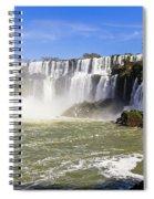 Waterfalls Wall Spiral Notebook