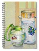 Waterfest Love Spiral Notebook