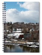 Waterfront After The Storm Spiral Notebook