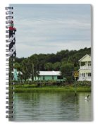 Historic Waterfront Beauty Spiral Notebook