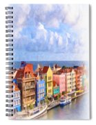 Waterfront Houses Spiral Notebook