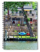 Waterfront Landscaping Spiral Notebook