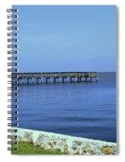 Waterfront Pier Spiral Notebook