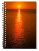Waterfront Sunrise Spiral Notebook
