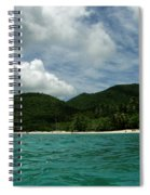 Waterfront View Spiral Notebook