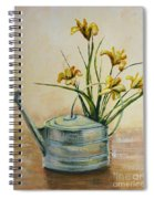 Watering Can Spiral Notebook