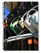 Watering Garden Spiral Notebook