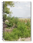 Watering The Weeds Spiral Notebook