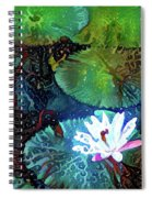 Waterlilies 19 Spiral Notebook