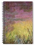 Waterlilies At Sunset Spiral Notebook