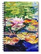 Waterlilies Impressionism Spiral Notebook