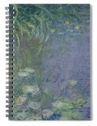 Waterlilies Morning Spiral Notebook