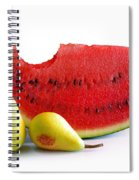 Watermelon And Pears Spiral Notebook