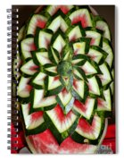Watermelon Art Spiral Notebook