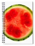Watermelon Slice Spiral Notebook