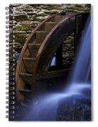 Watermill Wheel Spiral Notebook