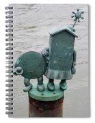 Waters Edge Art I Spiral Notebook