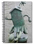 Waters Edge Art Spiral Notebook