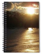 Watershed Sunset Spiral Notebook