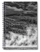 Waterspouts On Viedma Lake - Patagonia Spiral Notebook