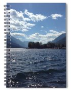 Waterton Lake Spiral Notebook