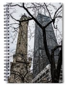 Watertower Chicago Spiral Notebook