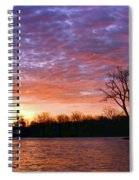 Waterville Sunrise Panorama 0002 0003 Signed Spiral Notebook