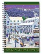 Waterville Valley At Wintertime Spiral Notebook