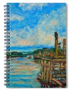 Waterway Near Pawleys Island Spiral Notebook