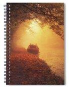Waterway Sunrise Spiral Notebook