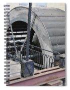 Waterwheel Detail Spiral Notebook