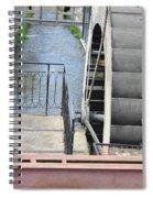 Waterwheel Spiral Notebook