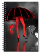 Waterworld At Night Spiral Notebook