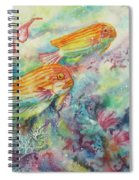 Watery World 1 Spiral Notebook