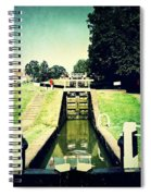 10945 Watford Locks On The Grand Union Canal Spiral Notebook