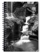 Watkins Glen Rainbow Falls #2 Spiral Notebook