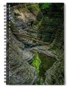 Watkins Glen State Park New York_dsc9599_16 Spiral Notebook