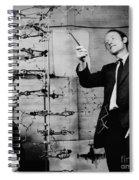Watson And Crick Spiral Notebook