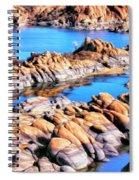 Watson Lake At Prescott Az Spiral Notebook