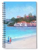 Watsons Bay Sydney Harbour - Doyles On The Beach Restaurant Spiral Notebook