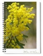 Wattle Spiral Notebook