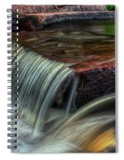 Wausau Whitewater Course Through Granite Spiral Notebook
