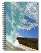 Wave Breaking Spiral Notebook