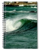 Wave Curl Spiral Notebook